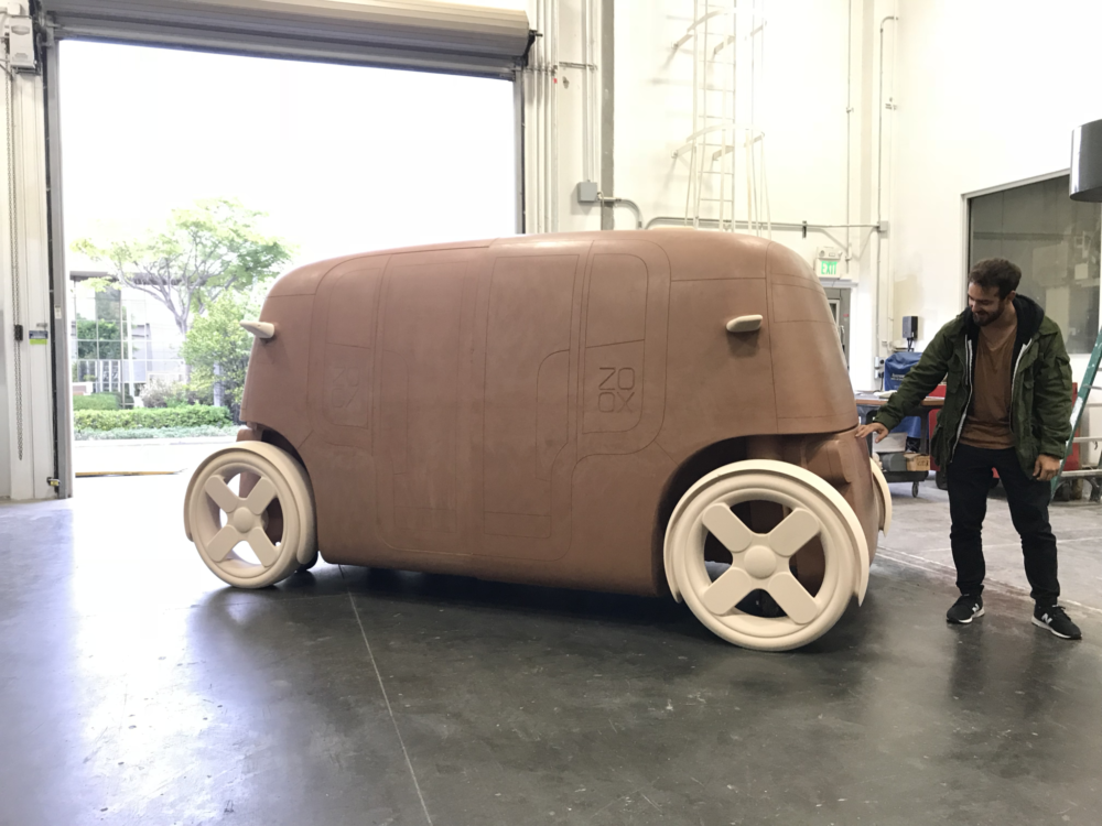 Full-scale clay models allows us to fine-tune our vehicle's industrial design.