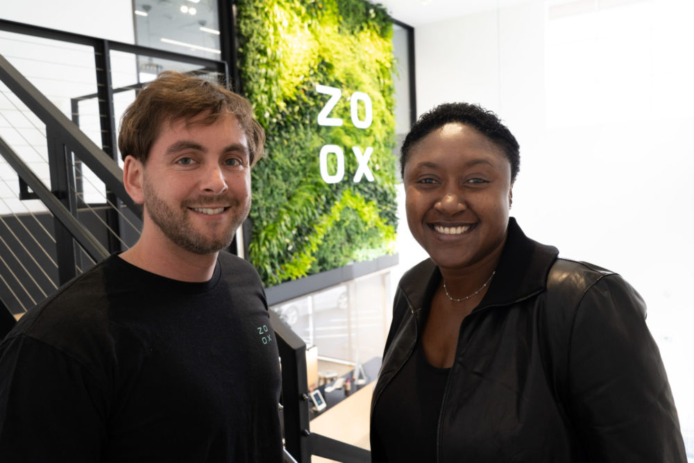 Aicha Evans, who previously held various senior leadership positions at Intel, including Chief Strategy Officer, joins Zoox as CEO.